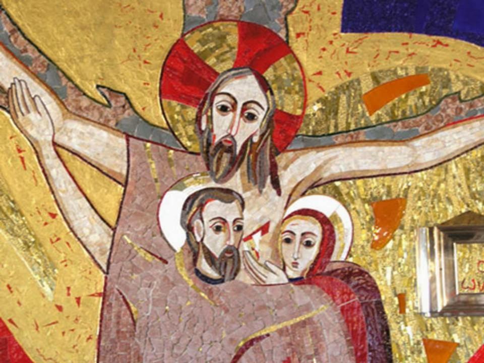 maria e giovanni sotto la croce