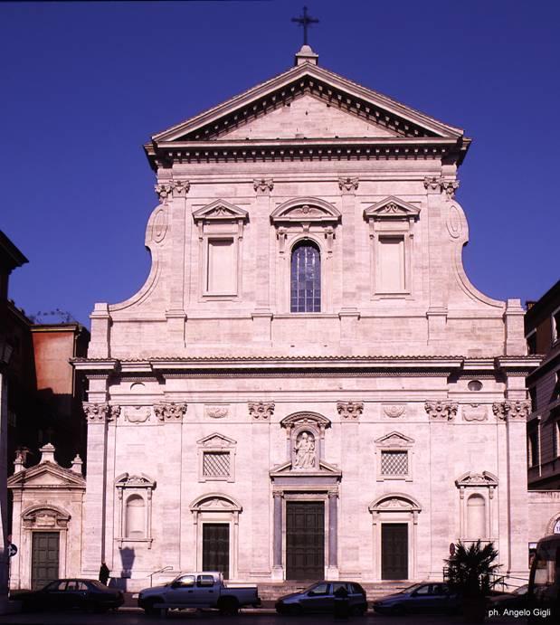 La facciata della Traspontina