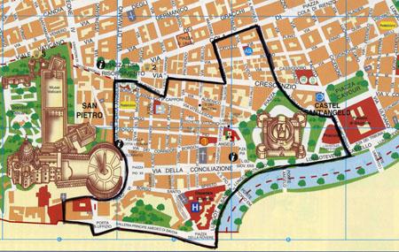 Mappa attuale